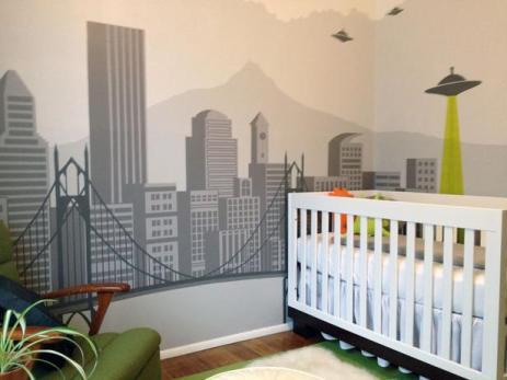 Ideja za otroško sobo.
