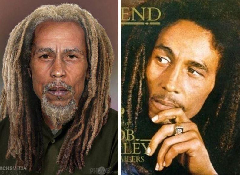 Bob Marley - umrl leta 1981 pri 36-letih.