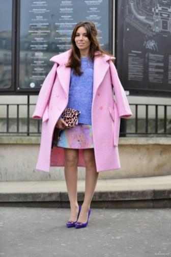Plašči, ki so greli trendseterke na tednu visoke mode v Parizu