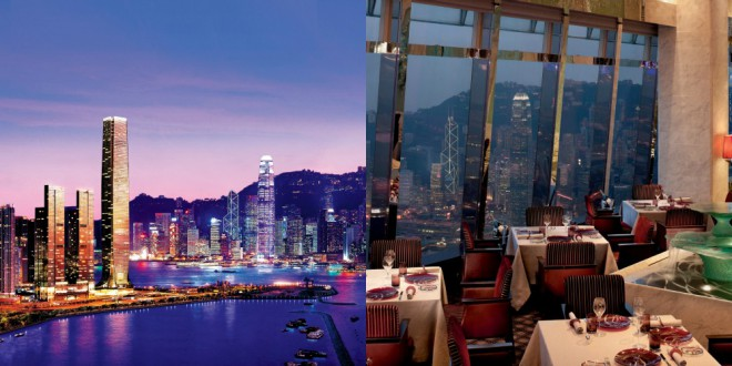 Najbolj luskuzna restavracija v Hong Kongu.