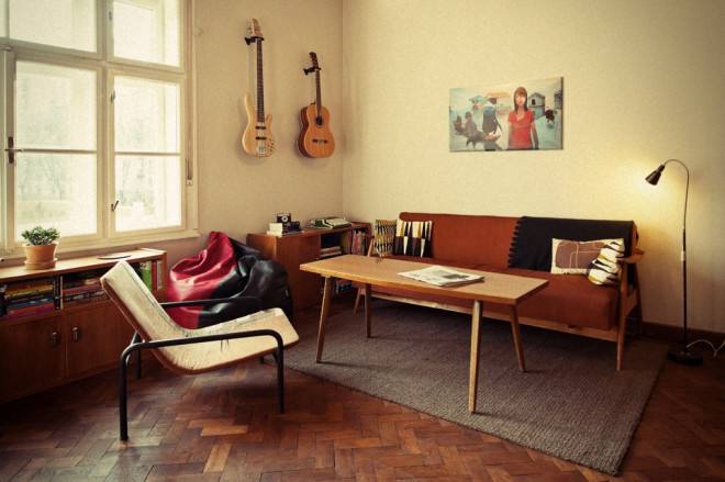 Dnevna soba. Foto: Andrej Korenč