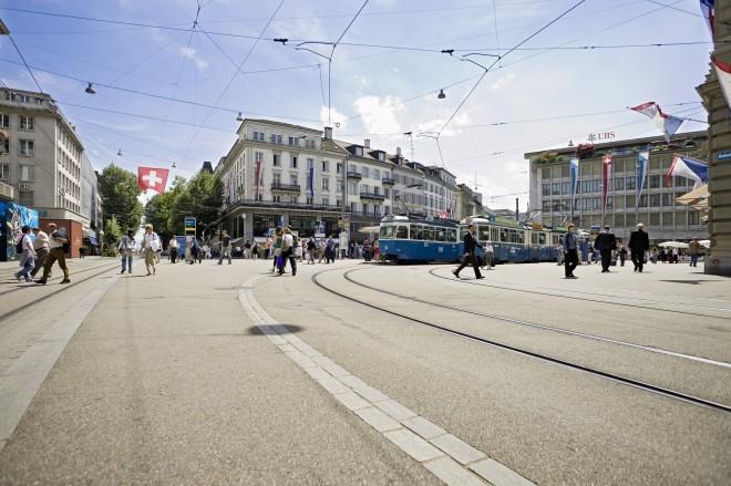 Bahnhofstrasse, Zürich. Foto: bahnhofstrasse-zuerich.ch