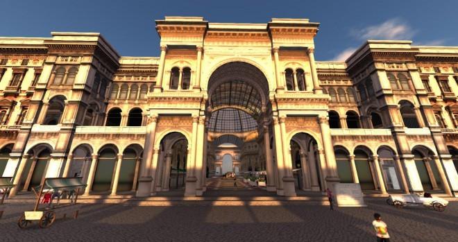 Galleria Vittorio Emanuele, Milano. Foto: quanlavender.blogspot.com