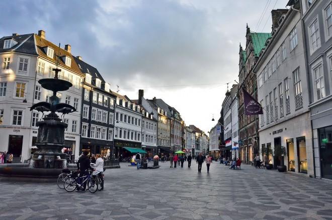 Strøget, Copenhagen. Foto: traveljapanblog.com
