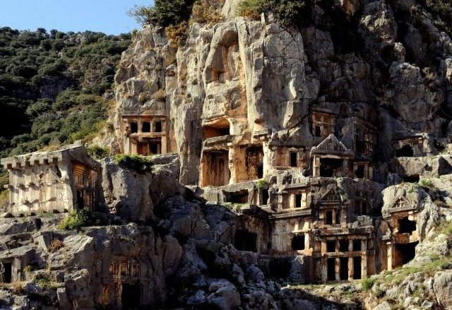Myra, Lycia, Turčija.