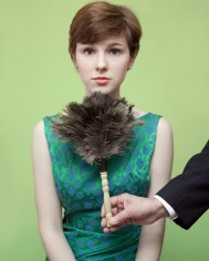 Maine - Prepovedano je žgečkati ženske pod brado z lovilcem prahu.
