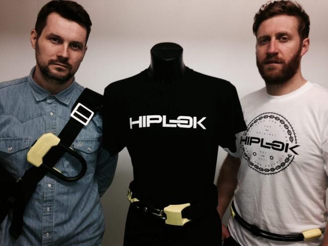 Na fotografiji so trije različni modeli hiplok ključavnic: hiplok D, POP in V1.50