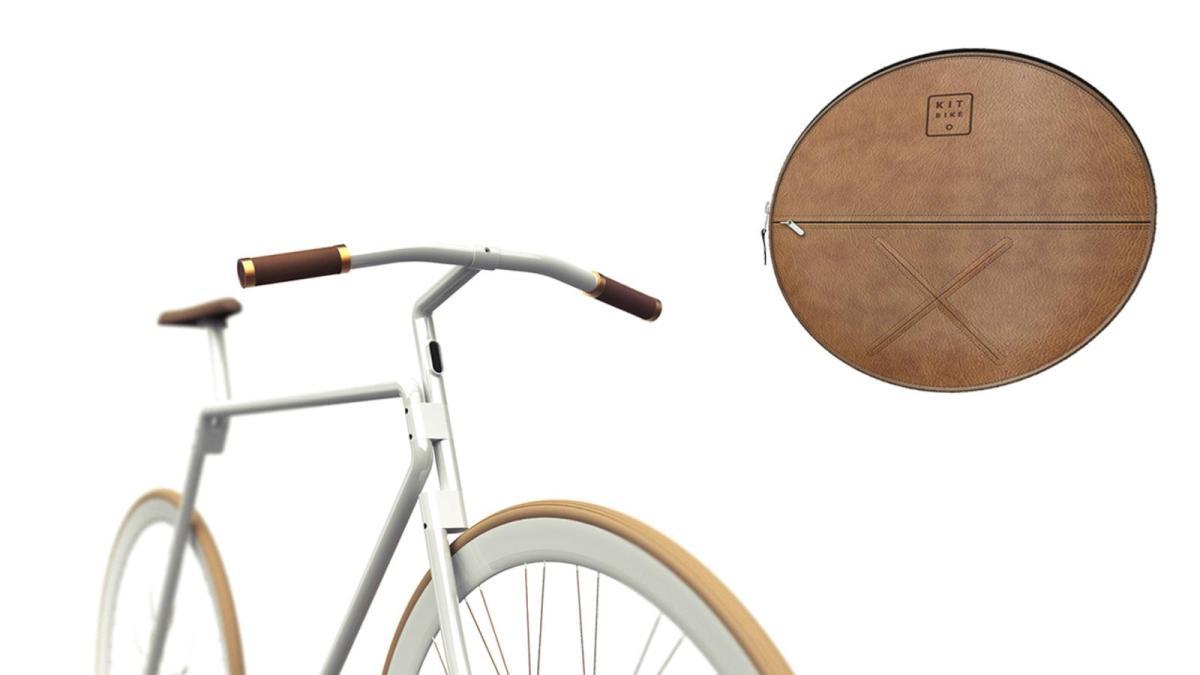 """»Kaj ti bo torba če imaš kolo?"""" Ja le kaj? Kolo bo postal lahko prenosljiva prtljaga."""