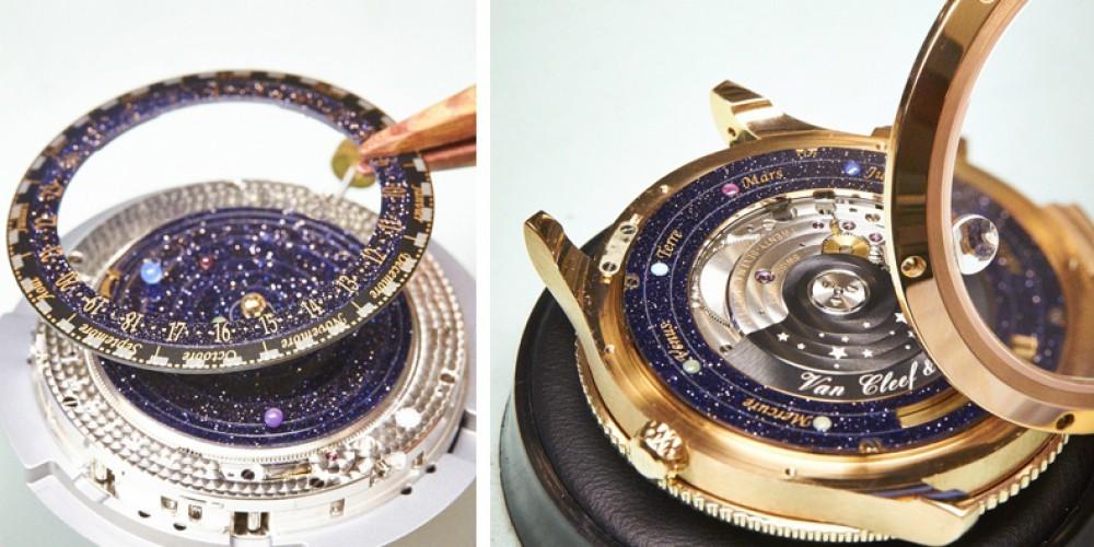 Uro sestavlja kar 396 komponent, vse iz vrhunskih materialov.
