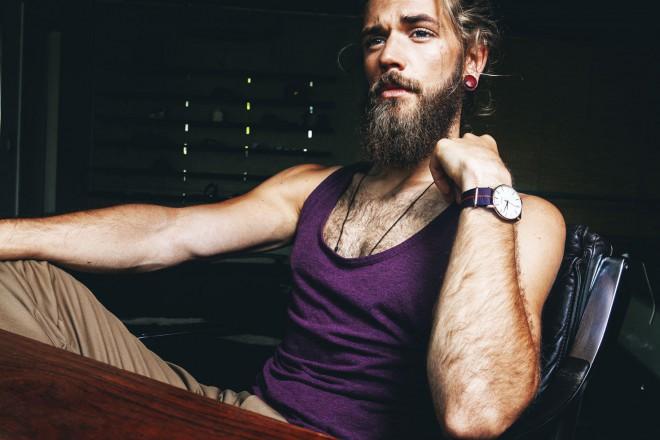 Švedski model Ben Dahlhaus.