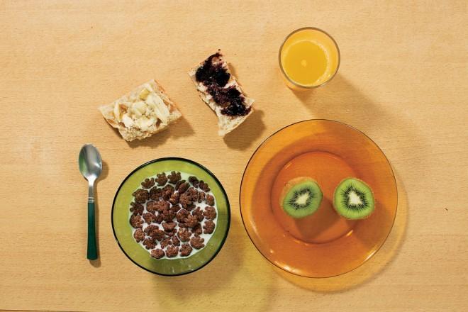 Nathanaëlol zajtrk