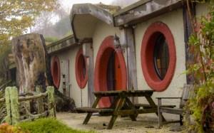 Tukaj se bomo počutili kot v filmu - The Hobbit Motel, Nova Zelandija
