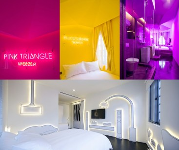 Najbolj barvit hotel - Wanderlust Hotel, Singapur