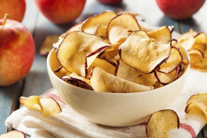Jabolčni čips.
