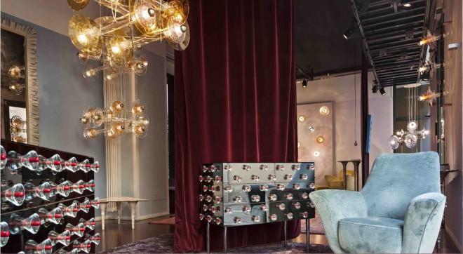 Pohištvena galerija Nilufar  je vir inspiracije za oblikovalca Dolce & Gabbano