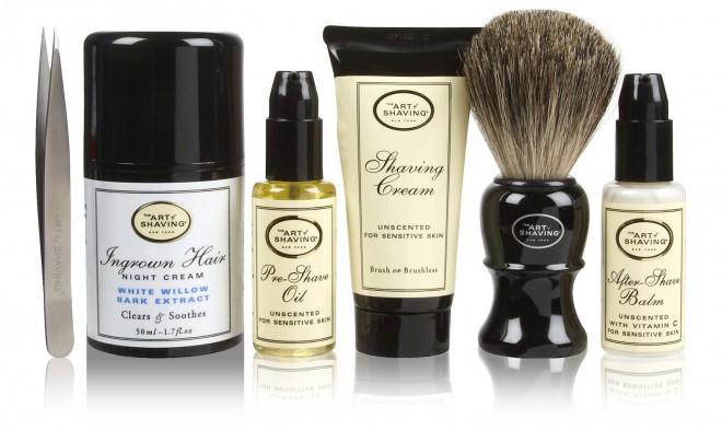 Izdelki za britje The Art of Shaving.