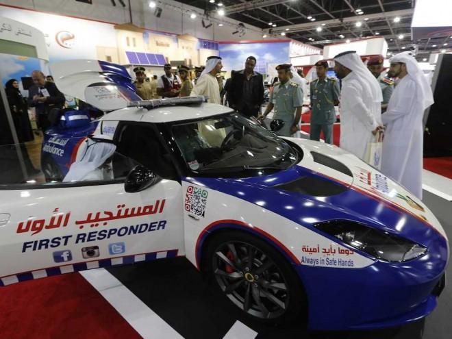 Predelana Lotus Evora je najhitrejše reševalno vozilo na svetu.