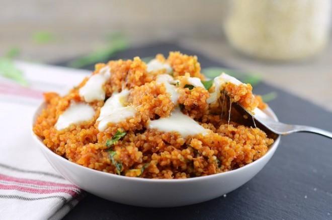 Kvinoja (via girl makes food)