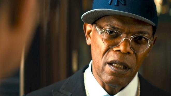 Samuel L. Jackson v filmu Kingsman:  The Secret Service.