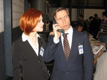 Mulder in Scully iz Dosjejev X