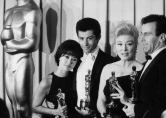 Sophia Loren, George Chakiris, Rita Moreno in Maximilian Schell