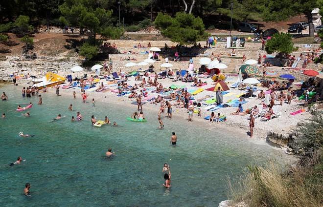 Plaža Bijeca, Medulin