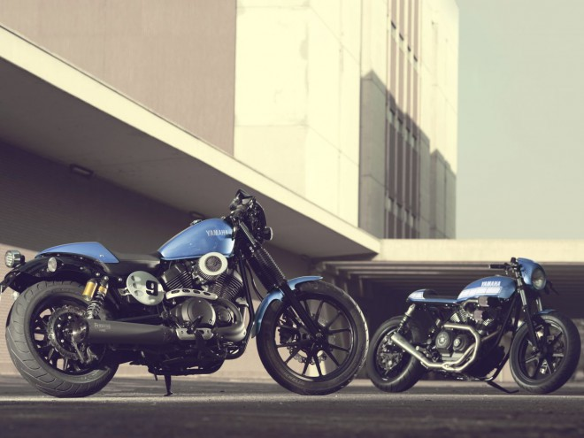 Yamaha XV950 Racer je surovega videza in izjemno športno naravnan motocikel.