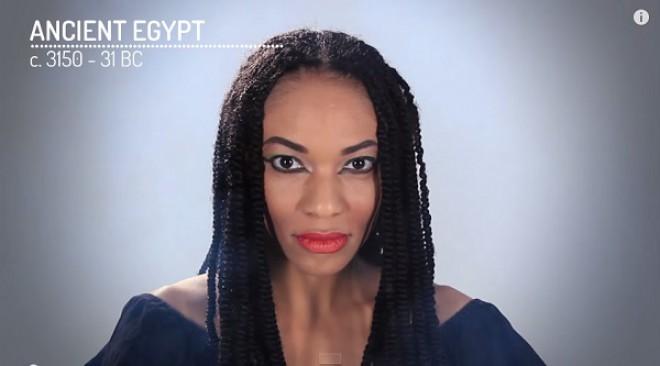 Lepotni standard za čas faraonov.
