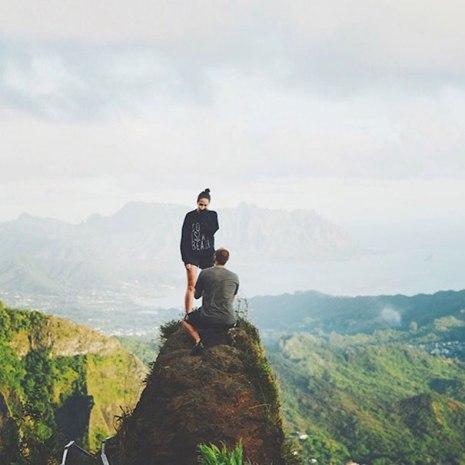 Zaroka na vrhu čarobne gore