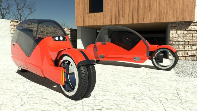 Lanesplitter kot dva motocikla.