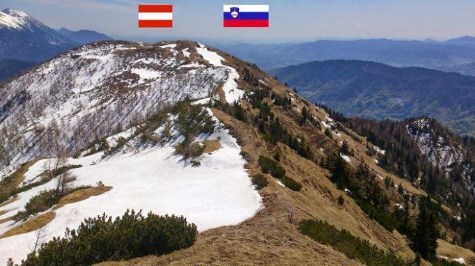 Alpska meja med Slovenijo in Avstrijo