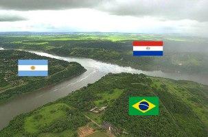 Argentina, Brazilija in Paragvaj