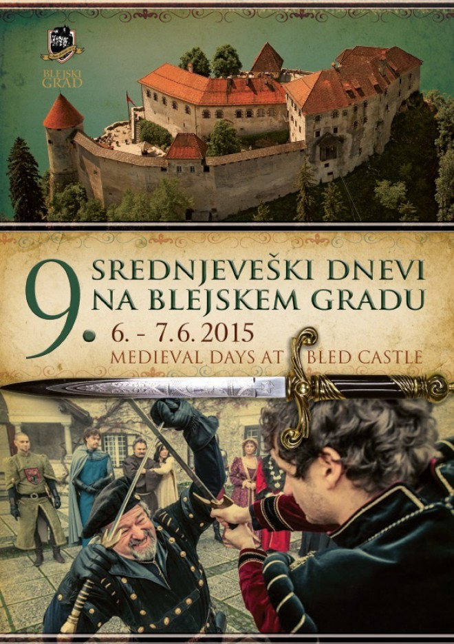 Lani so Srednjeveški dnevi na Blejskem grad privabili preko 3500 obiskovalcev.