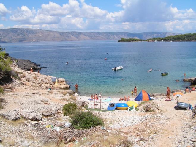 Nudistična plaža Baldarin, Cres