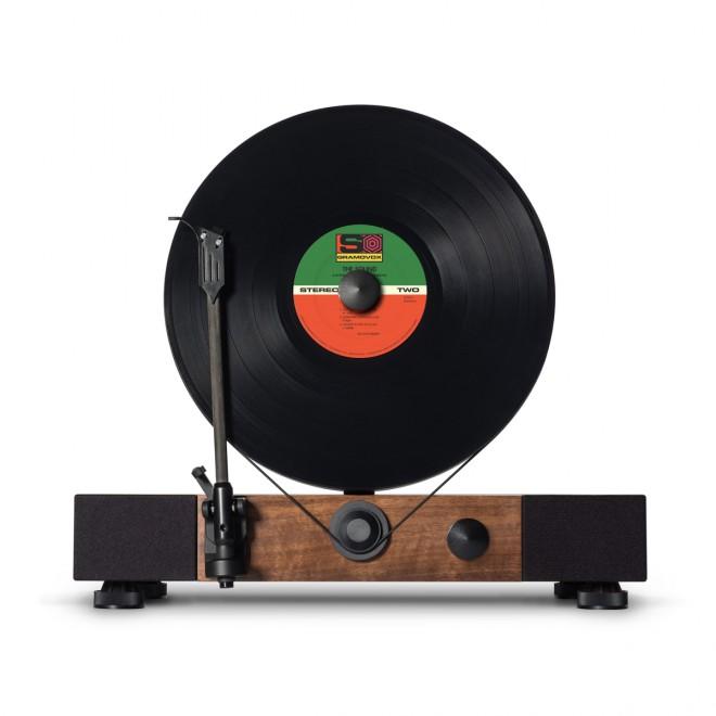 The Floating Record predvaja naše gramofonske plošče navpično.