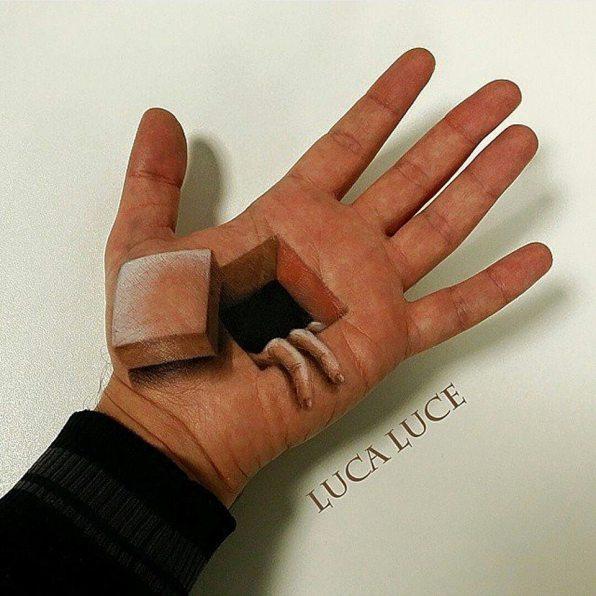 Optične prevare na dlani