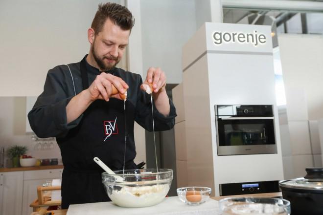 Kuharski mojster Bine Volčič