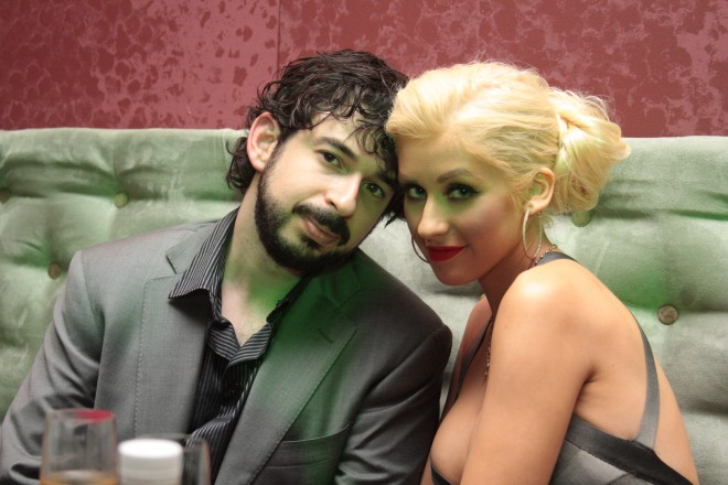 Jordan Bratman in Christina Aguilera
