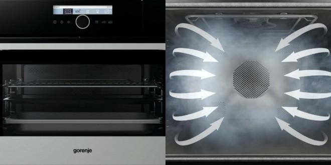 Nova kombinirana parna pečica Gorenje in funkcija MultiSteam 360°