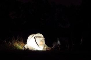 Moedal & Totem sta šotor in nahrbtnik v enem.