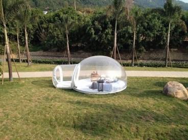Bubble Tent je šotor, ki vas pripelje še bližje naravi.