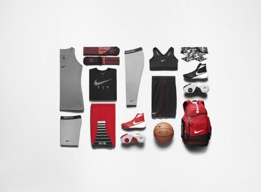 Kolekcija športni oblačil Nike, namenjena ženskam, ki igrajo košarko.