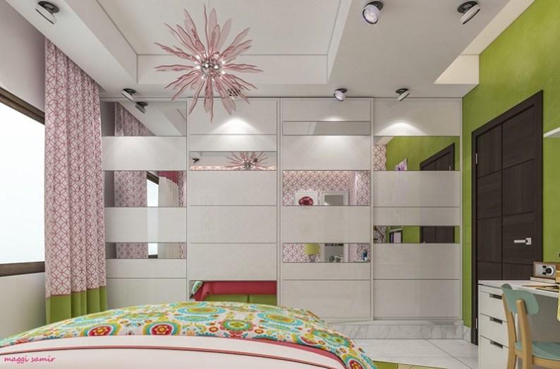 Otroška soba, navdihnjena z minimalizmom