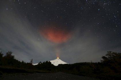 12. mesto: Izbruh vulkana Villarrica v Čilu
