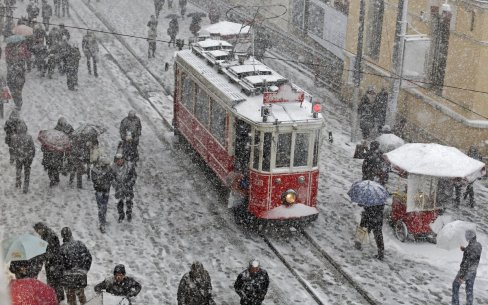 18. mesto: Strupen mraz na ulicah Istanbula