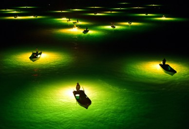 The Asahi Shimbun/Getty Images: Nočni ribiči, Japonska