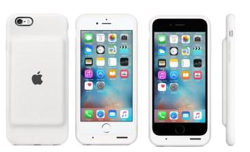 Apple Smart Battery Case je zaščitni ovitek in baterija