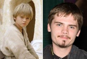 Jake Lloyd kot mladi Anakin Skywalker, 1999 in 2015