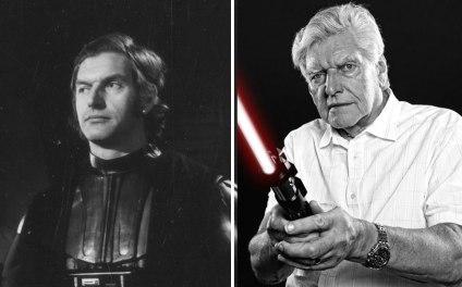 David Prowse kot Darth Vader, 1977 in 2015