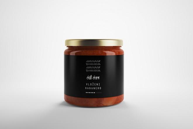 Premium čili omaka Chilli Čar